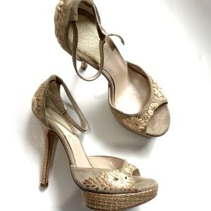 Christian Dior suede sandals